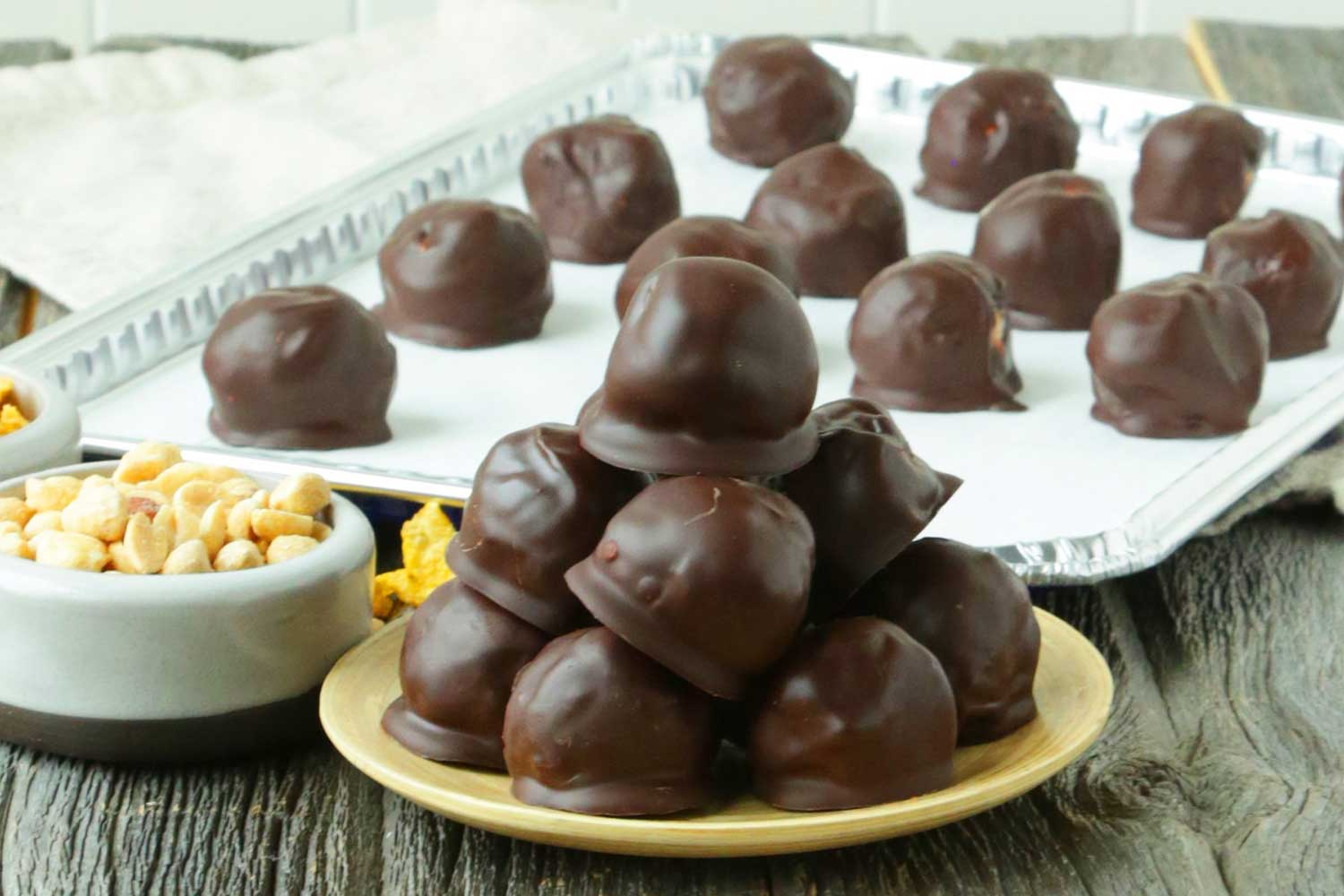 Chocolate Peanut Butter Balls