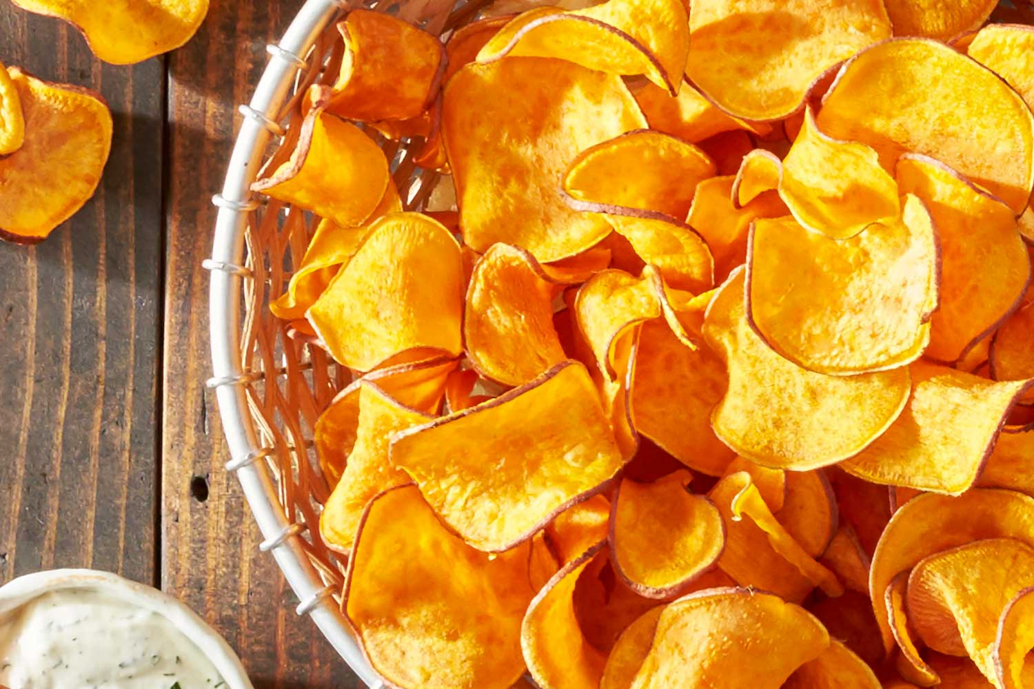 Baked Homemade Sweet Potato Chips