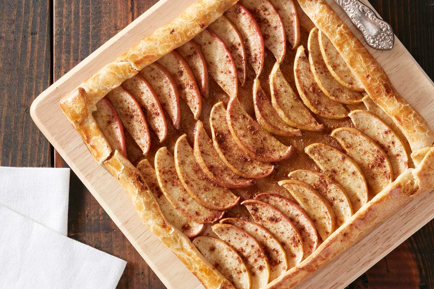 Browned Butter Apple Tart